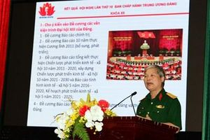 Báo Quân đội nhân dân thông báo kết quả Hội nghị lần thứ 10, Ban chấp hành Trung ương Đảng khóa XII