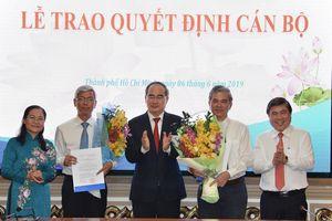 Trao quyết định phê chuẩn kết quả bầu bổ sung 2 Phó Chủ tịch UBND TPHCM