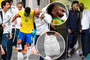 Dính chấn thương nặng, Neymar chia tay Copa America trong nước mắt