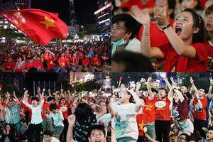 Đêm trắng 'ngất ngây' với chiến thắng của đội tuyển Việt Nam