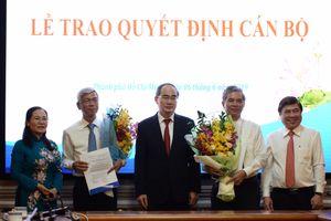 Bí thư Nguyễn Thiện Nhân: 'Thường vụ Thành ủy luôn sát cánh cùng Thường trực Ủy ban'