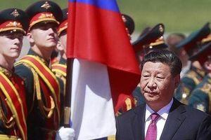 Chủ tịch Trung Quốc thăm Nga