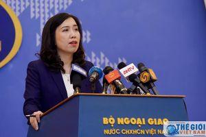 Việt Nam đã gửi công hàm tới Singapore về phát biểu của Thủ tướng Lý Hiển Long