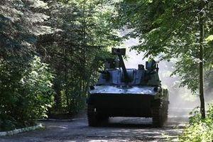 Lính dù Nga thử nghiệm hệ thống pháo tự hành Lotos cực kỳ uy lực