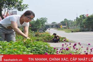 '10 hộ liền kề xanh - sạch - đẹp' ở xã vùng biên Hà Tĩnh