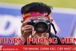 Báo Hà Tĩnh tuyển phóng viên