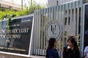 Bộ GD&ĐT bắt đầu thanh tra những bất ổn của trường ĐH Luật TP.HCM
