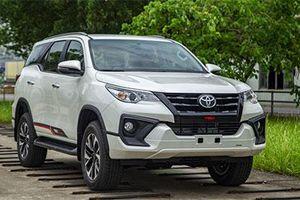 Toyota Fortuner 2019 lắp ráp trong nước ra mắt, giá từ 1,033 tỷ đồng
