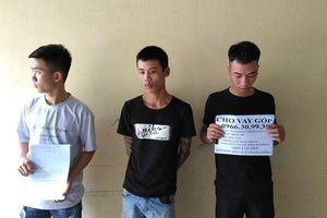 Tiền Giang: Bắt 3 thanh niên cho vay nặng lãi, tàng trữ roi điện, bình hơi cay trái phép