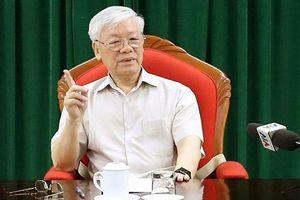 Tổng Bí thư, Chủ tịch nước Nguyễn Phú Trọng: Vẫn còn cấp ủy biểu hiện 'trên có chính sách, dưới có đối sách'