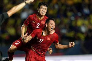 Thắng Thái Lan, Việt Nam vượt Jordan trên BXH FIFA