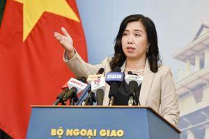 Việt Nam gửi thông điệp đến Singapore sau phát ngôn của Thủ tướng Lý Hiển Long
