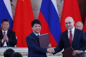 Nga trao hợp đồng 5G cho Huawei nhân chuyến thăm của ông Tập