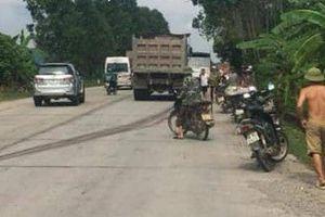 Nam thanh niên bị cuốn vào gầm xe tải tử vong thương tâm ở Bắc Giang