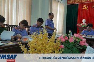 Trực tiếp kiểm sát tại Trại tạm giam Công an tỉnh Nghệ An