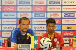 HLV Myanmar nhận định U23 Việt Nam là ứng viên số 1 tại SEA Games