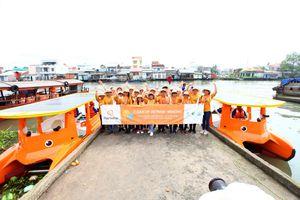 Tập đoàn Hanwha triển khai chiến dịch 'Làm sạch sông Mê Kông'