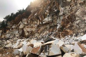 Sẩy chân khi đang khoan đá nổ mìn, người đàn ông tử vong