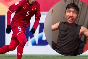 Sau chiến thắng Thái Lan, Văn Hậu tung clip 'siêu lầy'