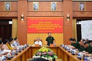 Thường vụ Quân ủy Trung ương và Thường vụ Thành ủy Thành phố Hồ Chí Minh sơ kết hoạt động phối hợp công tác