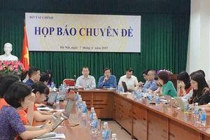Bộ Tài chính tổ chức họp báo chuyên đề về tình hình nợ công