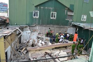 Nạn nhân bị mắc kẹt trong vụ sập nhà ở Hà Tĩnh đã tử vong