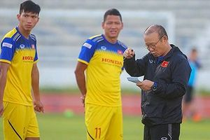 Tuyển Việt Nam trước trận chung kết King's Cup 2019: Chờ đợi bộ tứ HA.GL tỏa sáng