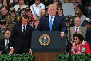 Bài phát biểu xúc động của ông Trump ở lễ kỷ niệm trận Normandy