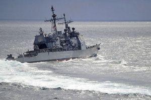 Nga tố tàu Mỹ suýt gây tai nạn trên biển Hoa Đông
