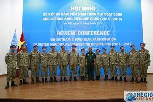 Cục Gìn giữ hòa bình Việt Nam sơ kết 5 năm hoạt động gìn giữ hòa bình Liên hợp quốc