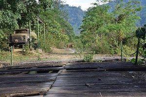 Khu tái hiện đường mòn Hồ Chí Minh bị bỏ hoang