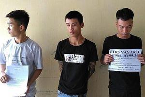 Tiền Giang: Bắt giữ 3 đối tượng cho vay nặng lãi