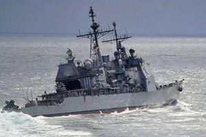 Moscow cáo buộc tàu chiến Mỹ 'cắt mặt' nguy hiểm tàu Nga ở Biển Đông