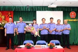Xây dựng Công đoàn bộ phận CQĐT VKSND tối cao ngày càng vững mạnh
