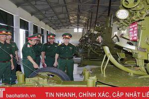 Hà Tĩnh thực hiện nhiệm vụ quân sự - quốc phòng chủ động, tích cực và đổi mới