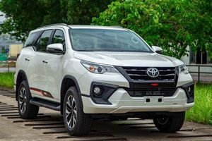 Bảng giá xe Toyota tháng 6/2019: Fortuner 2019 ra mắt