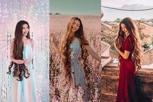 Vẻ đẹp tựa tiên nữ của 'công chúa tóc mây' gốc Việt
