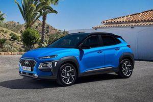 Ngắm Hyundai Kona Hybrid công suất 141 mã lực