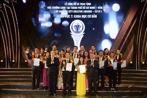 Trao tặng Giải thưởng sáng tạo TP Hồ Chí Minh cho 44 công trình
