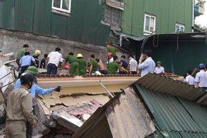Nạn nhân trong vụ sập nhà ở TP Hà Tĩnh đã tử vong