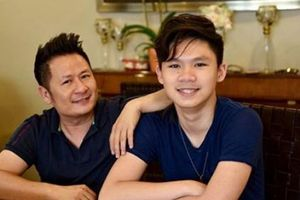 Con trai 16 tuổi của Bằng Kiều điển trai, cao ráo và tài năng không kém bố mẹ
