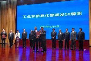 Trung Quốc chính thức cấp phép thương mại hóa mạng 5G