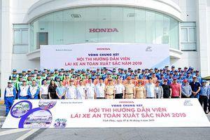 Honda Việt Nam tổ chức Hội thi 'Hướng dẫn viên Lái xe an toàn xuất sắc năm 2019'
