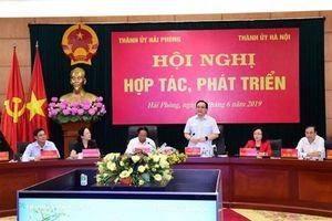 Hà Nội và Hải Phòng thúc đẩy hợp tác, phát triển bảy lĩnh vực trọng tâm