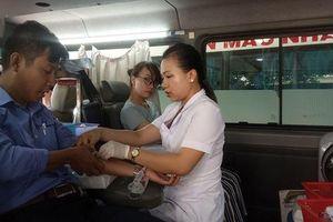CNVC-LĐ hiến máu nhân đạo