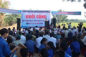 Khởi công xây dựng Khu Di tích Trận đánh của bảy liệt sĩ Điện Nam