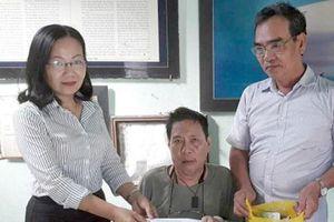 Chương trình 'Ly cà-phê yêu thương' hỗ trợ cựu nhà báo có hoàn cảnh khó khăn