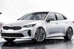 Kia lộ diện thiết kế của mẫu xe sedan Optima 2021