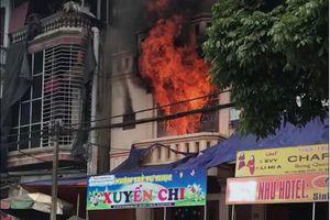 Bắc Hà (Lào Cai): Cháy lớn tầng 2 cơ sở nhóm trẻ tư thục Xuyến Chi