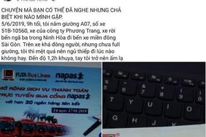 Diễn biến mới vụ cô gái tố bị nhân viên xe khách Phương Trang sàm sỡ lúc giữa đêm